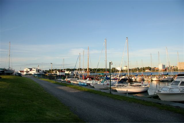Picture of boats in basin